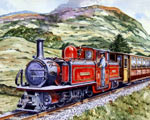 Festiniog Railway Train